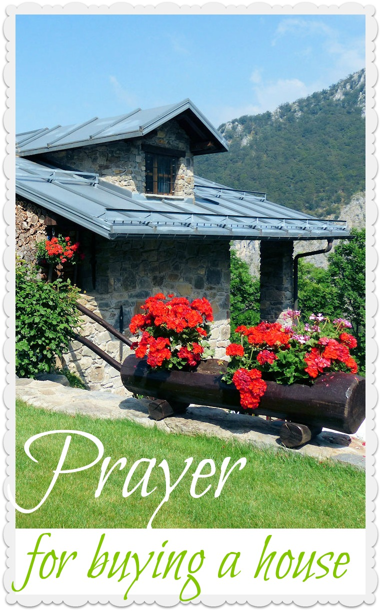 Prayer for buying a house - prayer-power.com