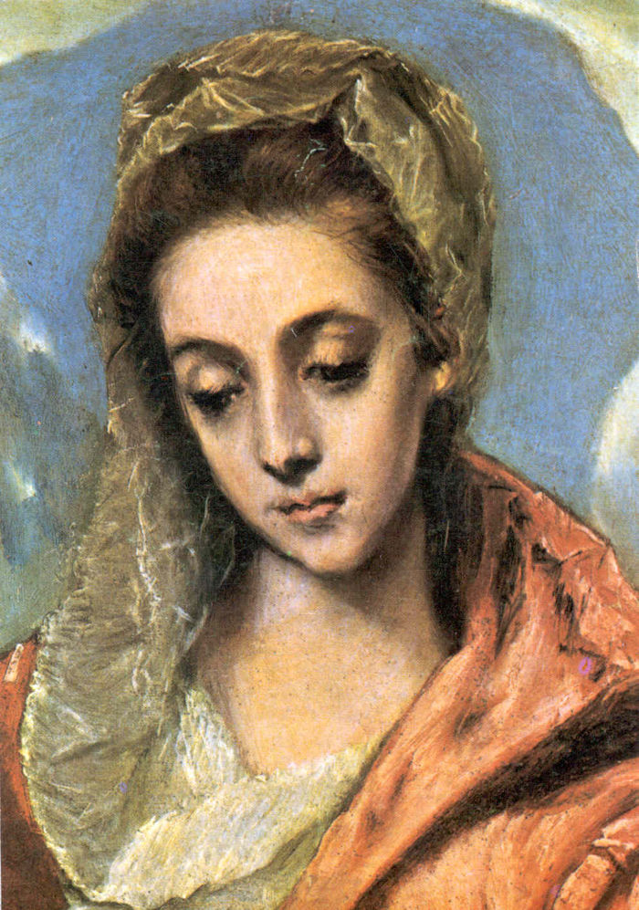 Solemnity of the Annunciation, by El Greco