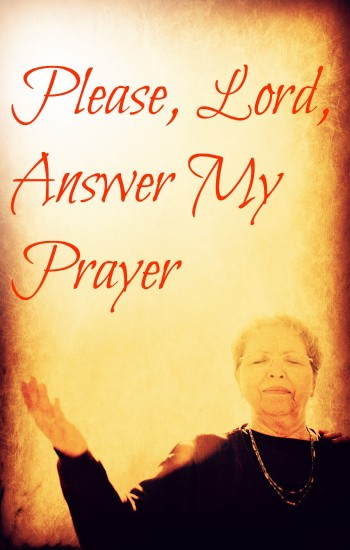 Please, Lord, answer my prayer / links to a prayer for those seeking God's will to be done in their lives.